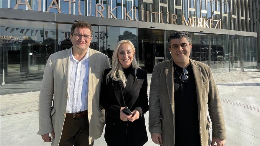 'Sinan' operası AKM'de ilk provasını yaptı