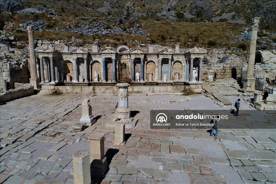 'Aşkların ve imparatorların şehri' Sagalassos'ta hareketlilik artıyor