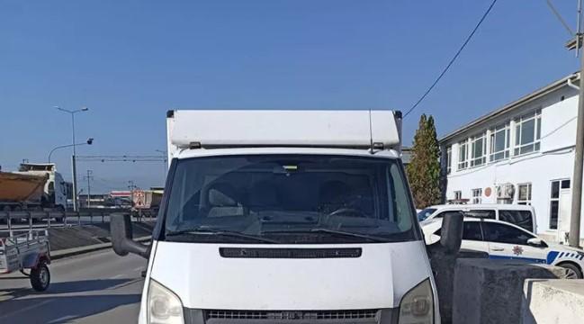 Ankara'da kamyonet çalan küçük çocuklar Sakarya'da yakalandı!
