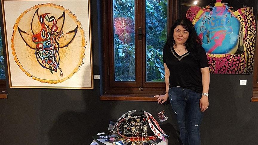 'Melez sanatçı' Türk ve Tayvanlı kimliğini dijital sanatına yansıtıyor