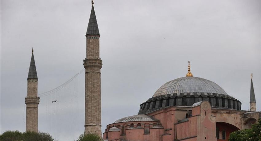 Ayasofya Camii'nde 87 yıl sonra bir ilk