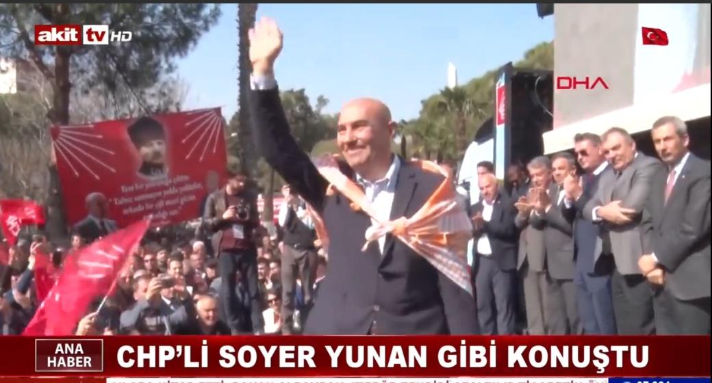 CHP'li Soyer yunan gibi konuştu