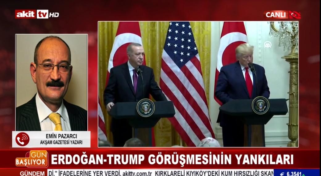 Erdoğan - Trump görüşmesinin yankıları