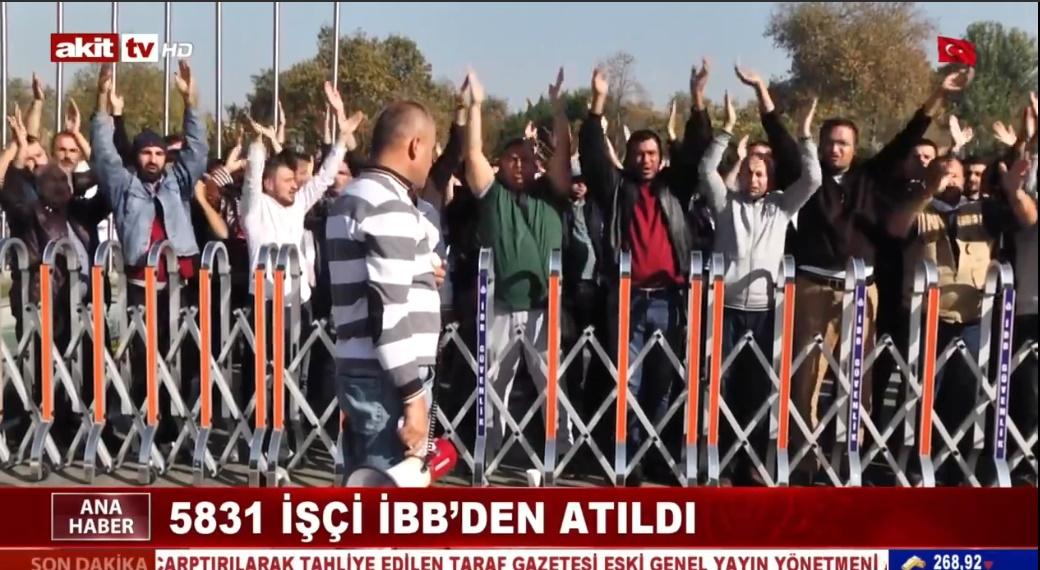 İBB önünde işçilerin direnişi sürüyor