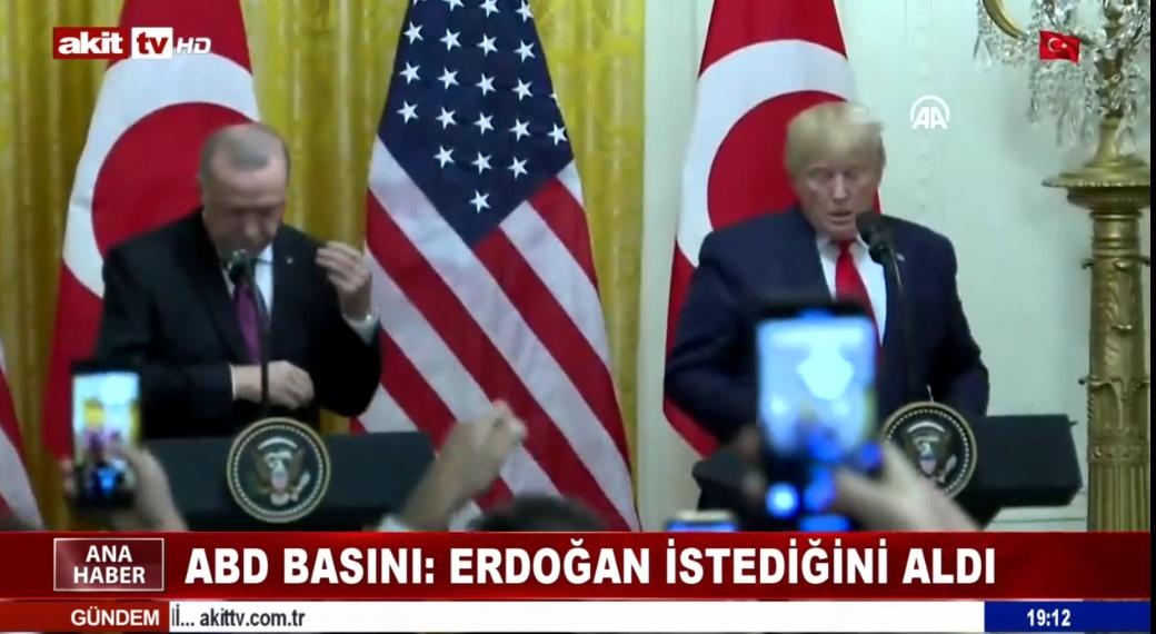 ABD basını; Erdoğan istediğini aldı