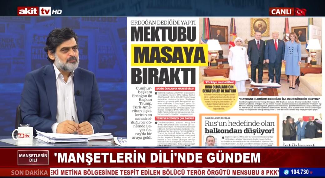 Amerika dün Erdoğan'a teslim oldu !