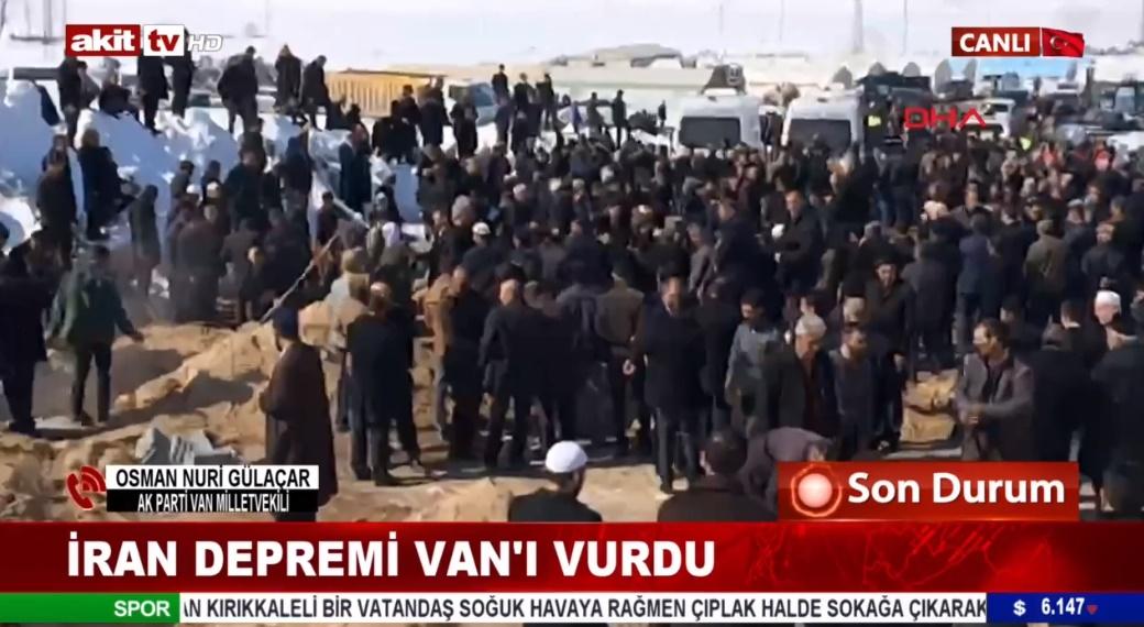AK Parti Van Mv. Osman Nuri Gülaçar son durumu bildirdi