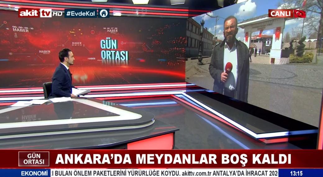 Ankara'da meydanlar boş kaldı