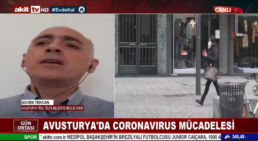 Avusturya'da Coronavirus mücadelesi