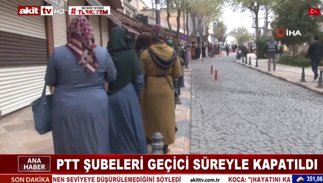 PTT Şubeleri geçici süreyle kapatıldı