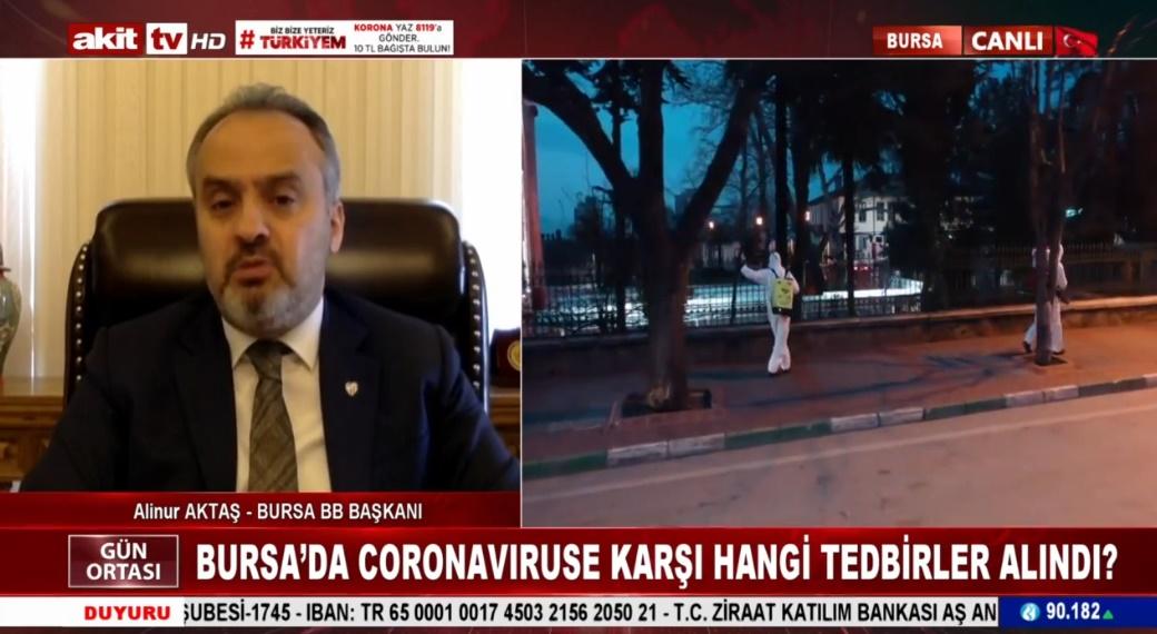 Bursa'da Coronavıruse karşı hangi tedbirler alındı
