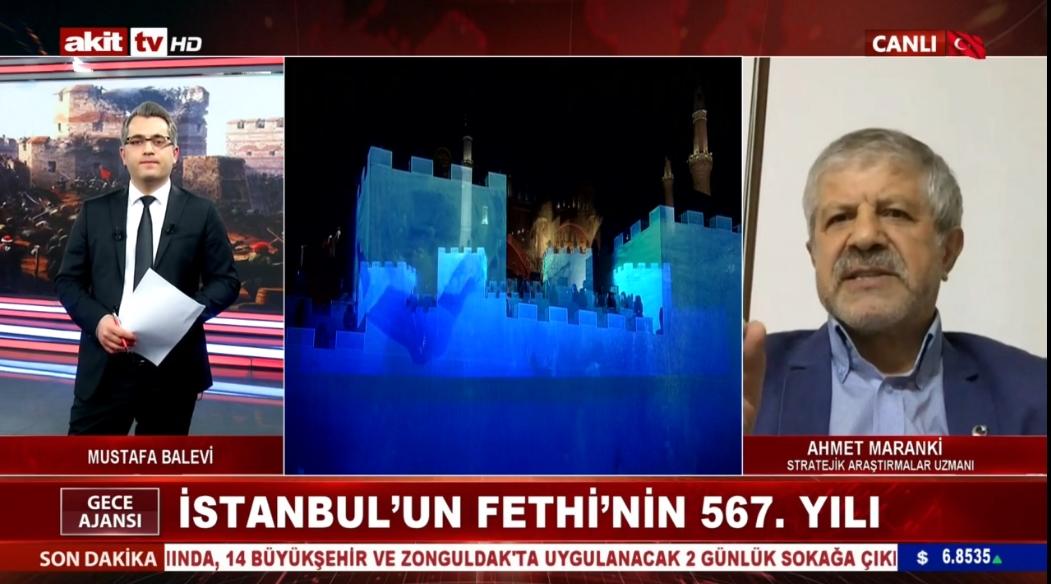 Prof. Dr. Ahmet Maranki İstanbul'un fethini anlattı