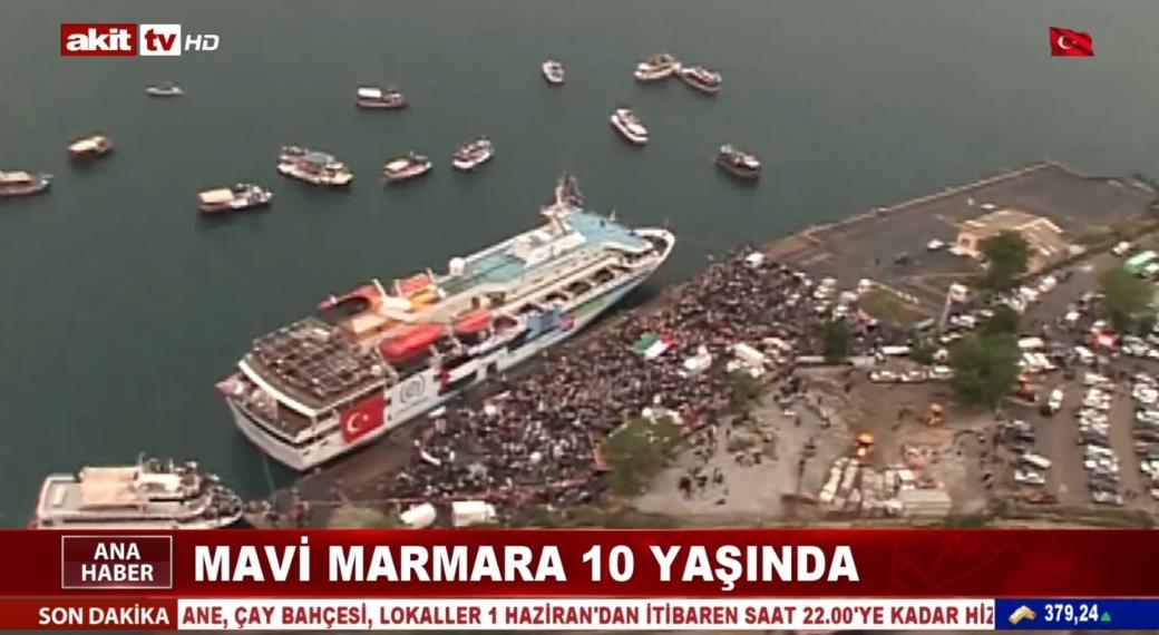 Mavi Marmara 10 yaşında