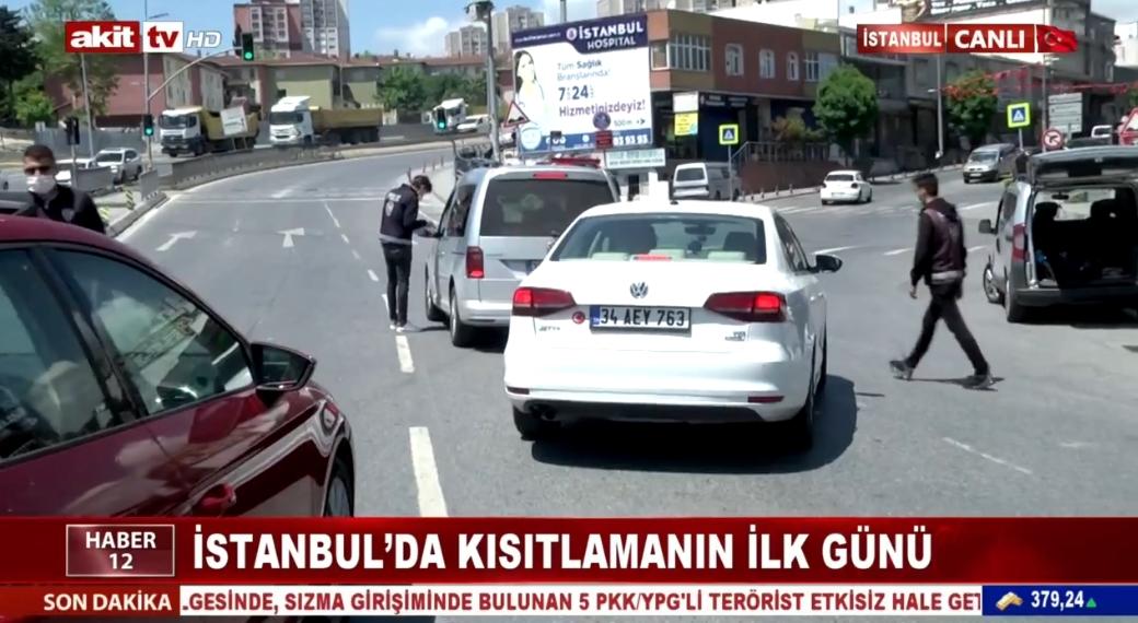 İstanbul'da kısıtlamanın ilk günü