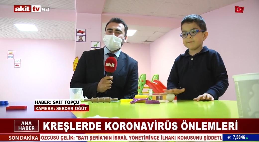 Kreşlerde koronavirüs önlemleri