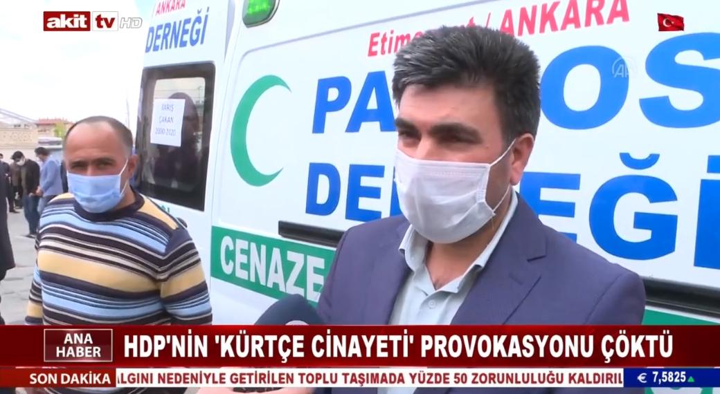 HDP'nin kürtçe cinayeti provokasyonu çöktü