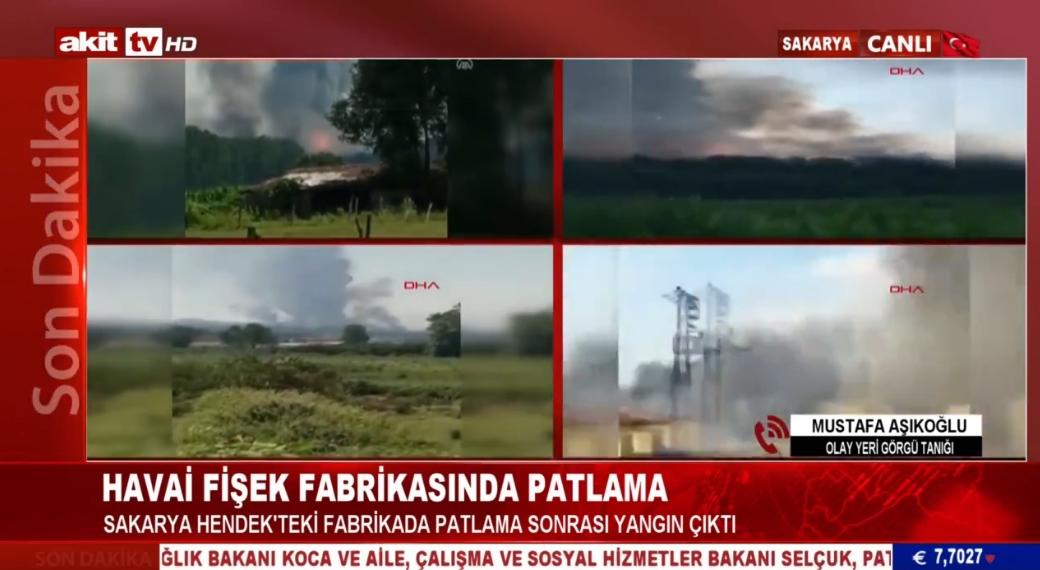Sakarya'da olay yeri görgü tanığı o anları Akit TV'ye anlattı