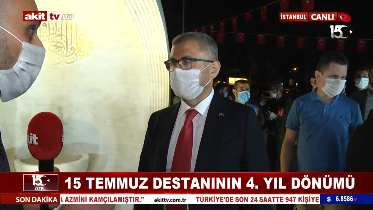 Üsküdar Belediye Başkanı Hilmi Türkmen hain kalkışma gecesinde yaşananları anlattı