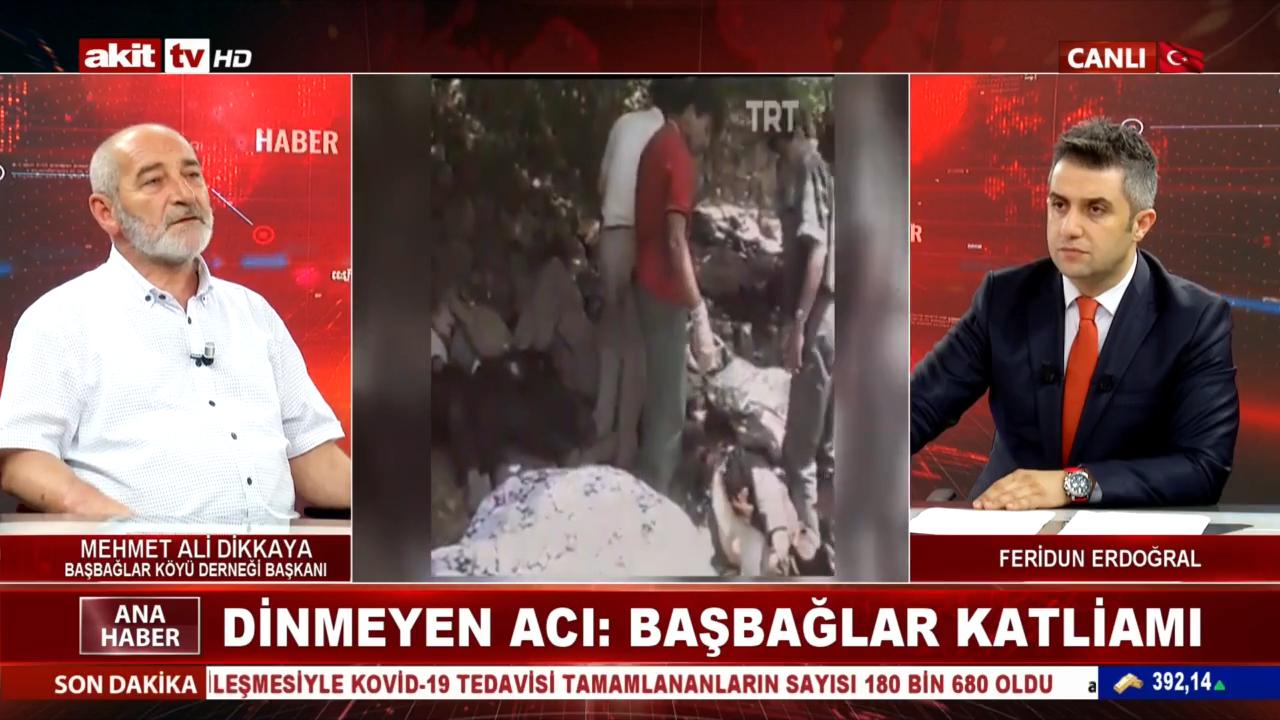 Başbağlar Köyü Derneği Başkanı Mehmet Ali Dikkaya Başbağlar Katliamı'nın bilinmeyen yönlerini anlattı