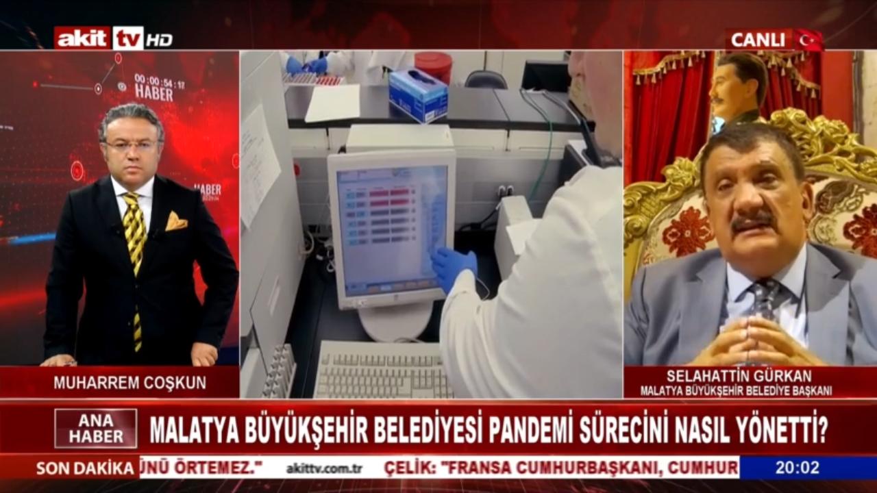 Malatya Büyükşehir Belediye Başkanı Gürkan Akit TV'de gündemi değerlendirdi