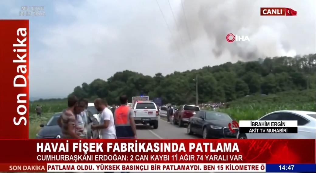 Akit TV Muhabiri İbrahim Ergin son durumu bildirdi