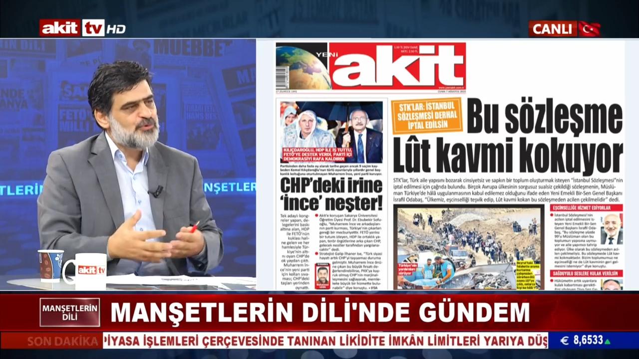 'İstanbul Sözleşmesi'nde sorunlu maddeleri çıkaralım'