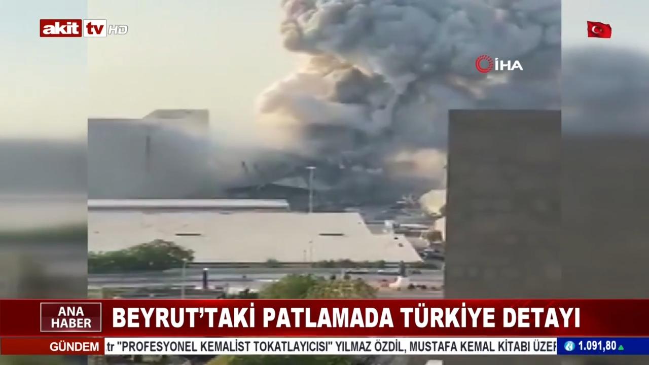 Beyrut'taki patlamada Türkiye detayı!