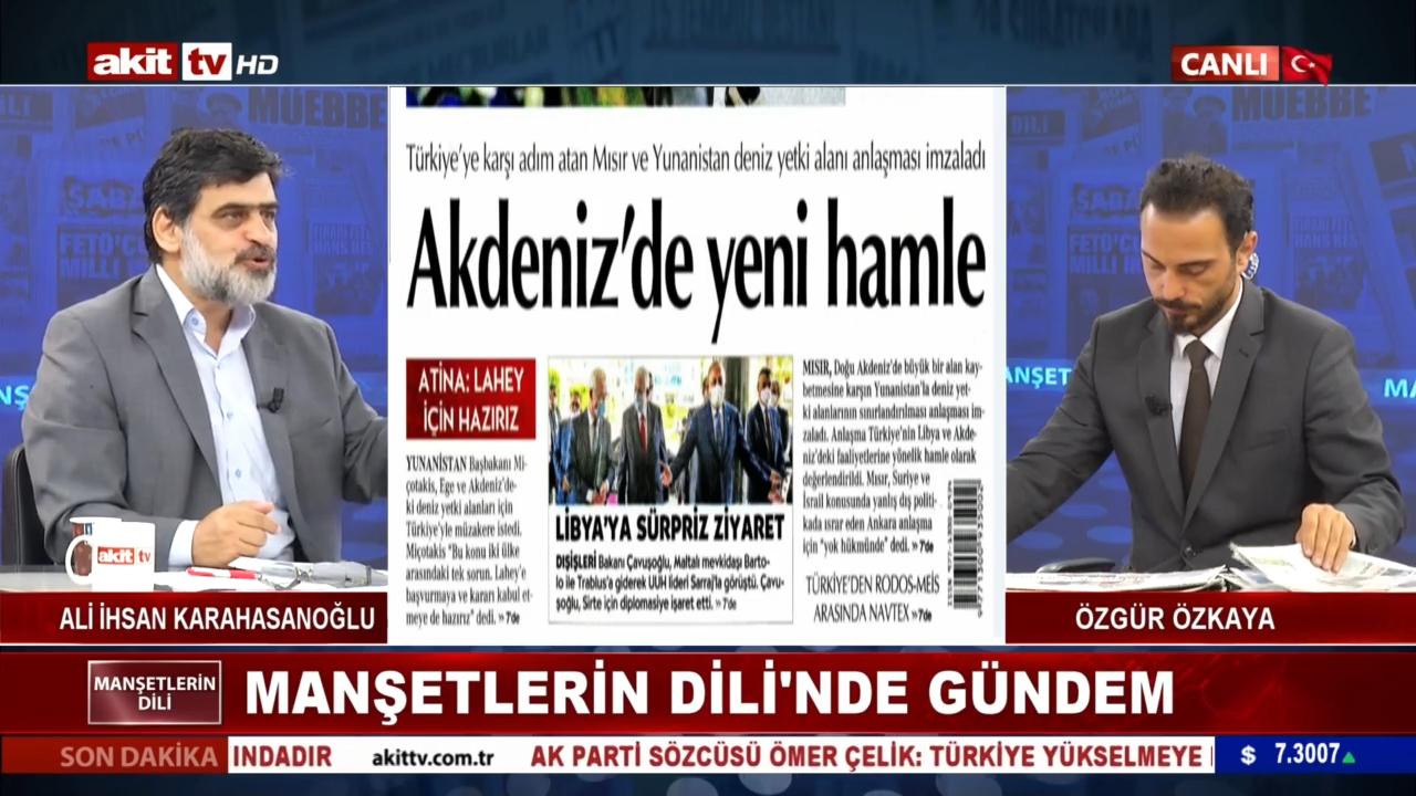 """'Cumhuriyet Gazetesi: Mısır'da darbeciden yana olabilirsiniz' diyor"""""""