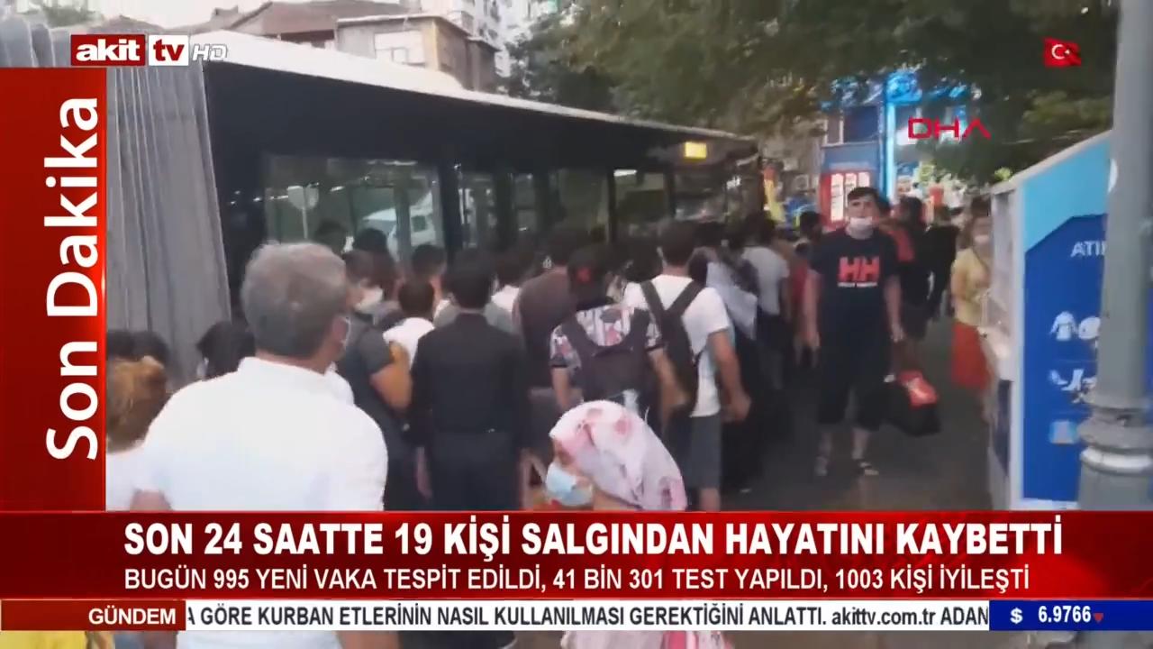 Otobüs şoförü ile yolcular arasında kavga