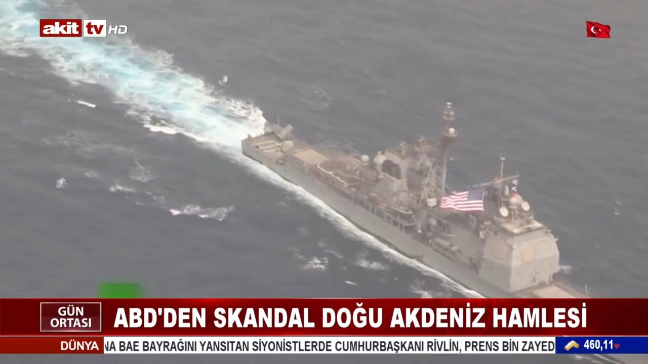 ABD'den skandal 'Doğu Akdeniz' hamlesi