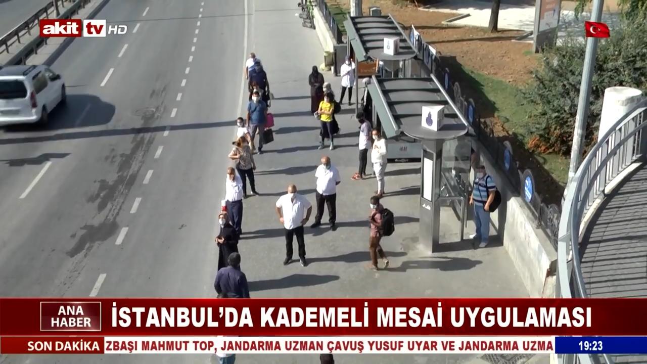 İstanbul'da Kademeli Mesai Uygulaması