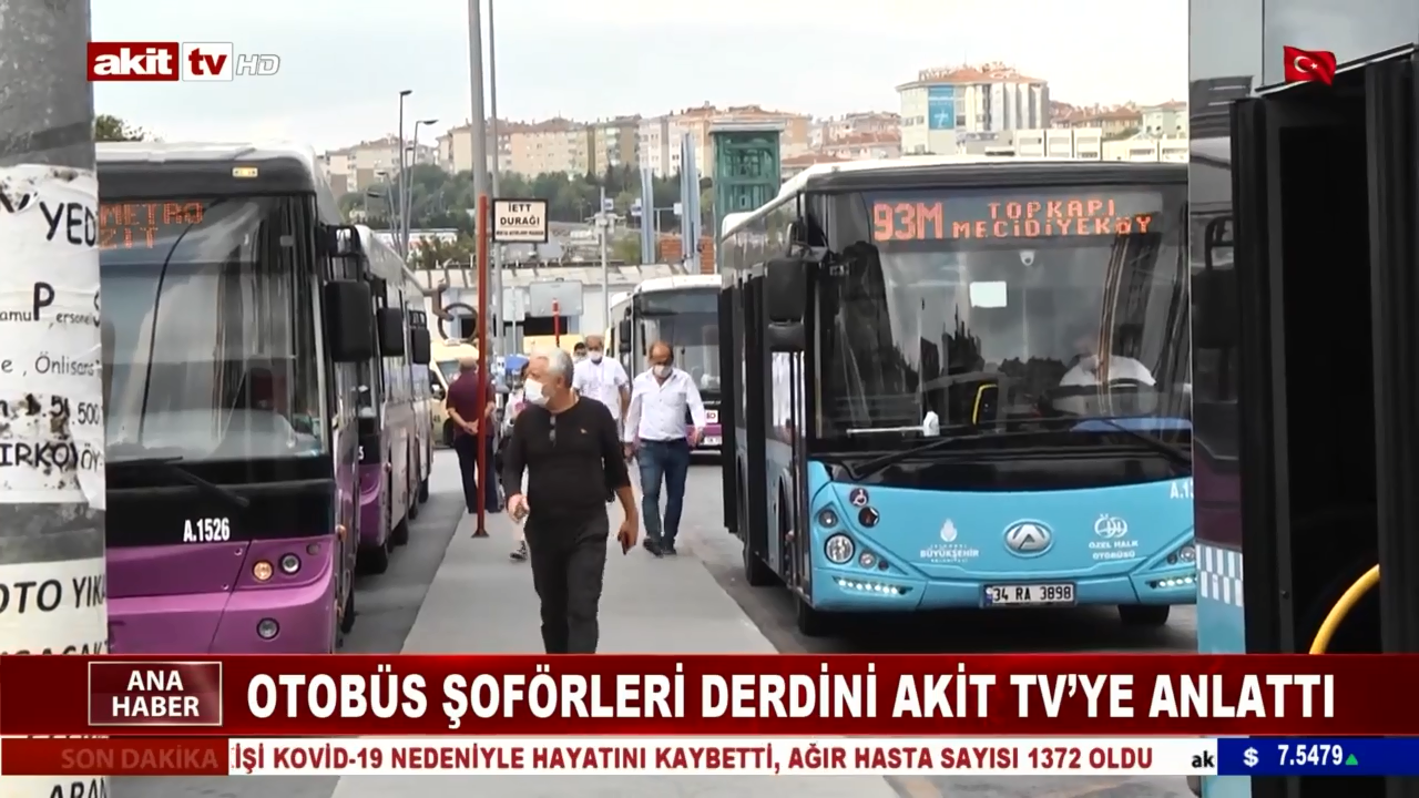 Otobüs Şoförleri Derdini Akit Tv'ye Anlattı