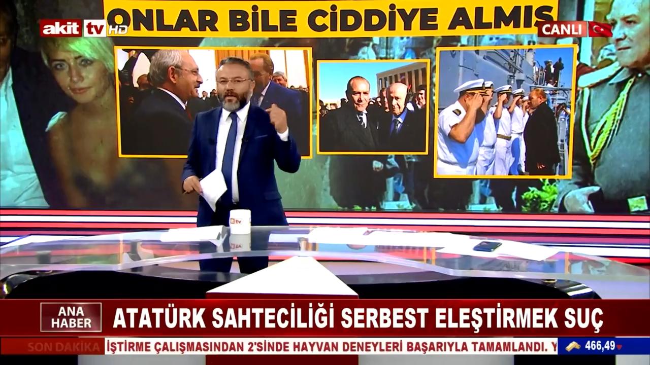 Atatürk Sahteciliği Serbest Eleştirmek Suç