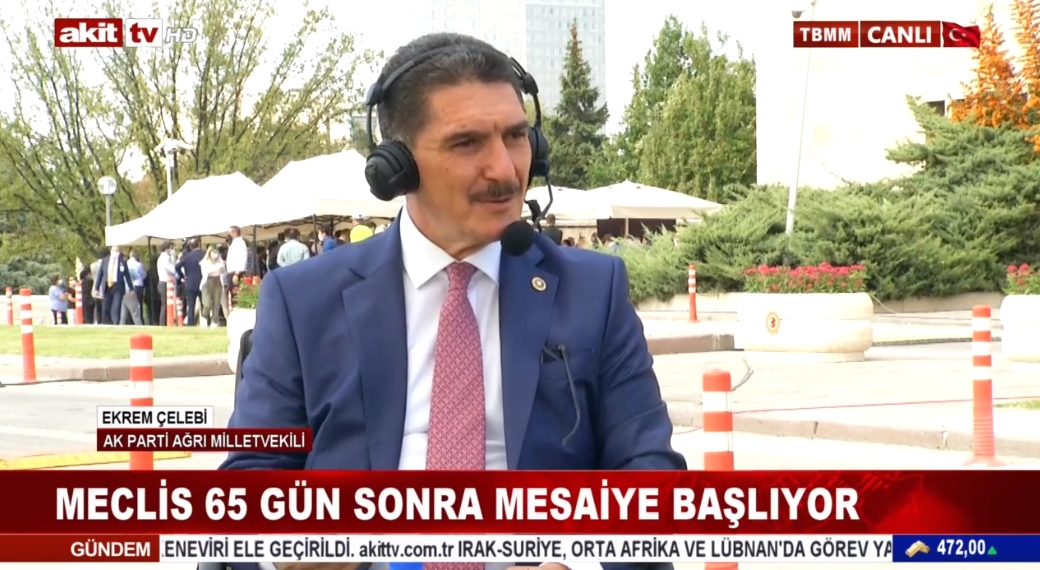 AK Parti Ağrı Milletvekili Ekrem Çelebi yeni yasam yılını değerlendirdi