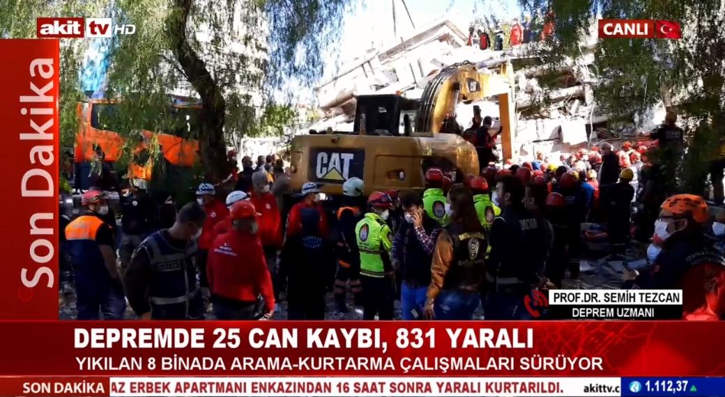 Prof. Dr. Semih Tezcan 5,9'luk Ege depremini analiz etti