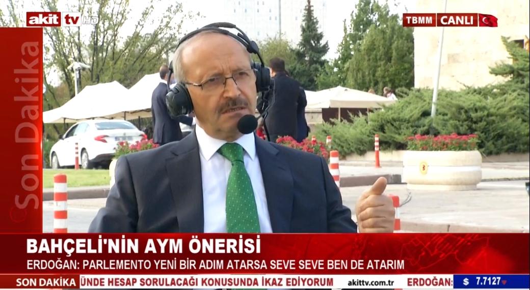 AK Parti MKYK Üyesi Ahmet Sorgun gündemi değerlendirdi