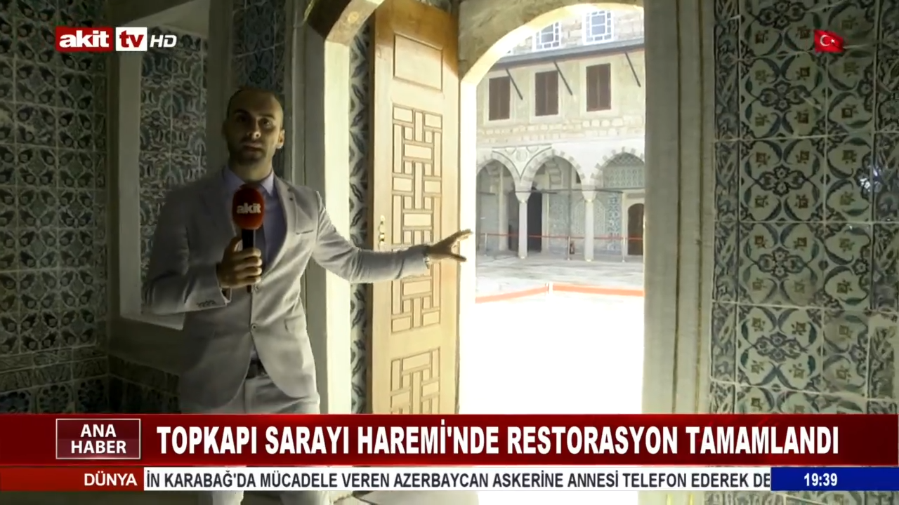 Akit TV Topkapı Sarayı'nda