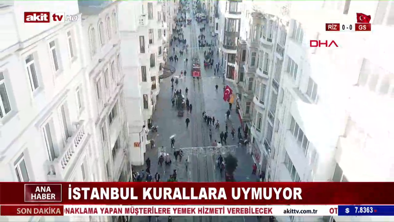 İstanbullular kurallara uymuyor!