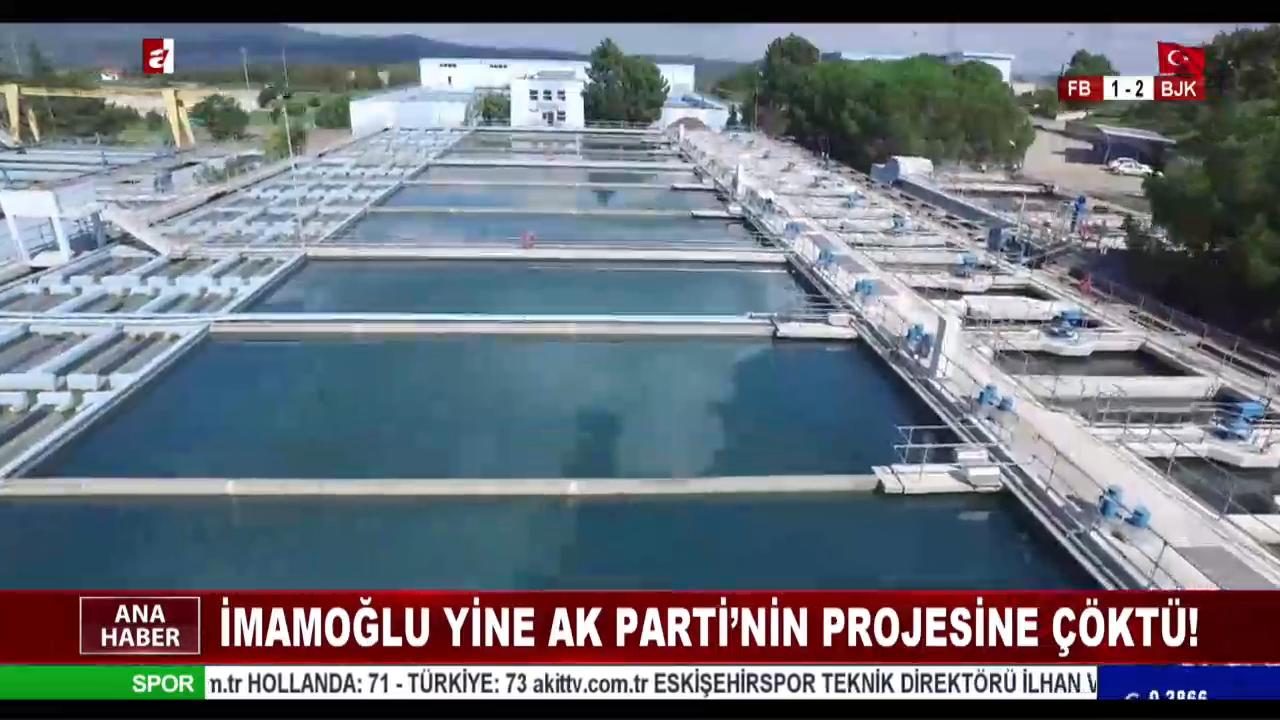 İmamoğlu yine Ak Parti'nin projesine çöktü !