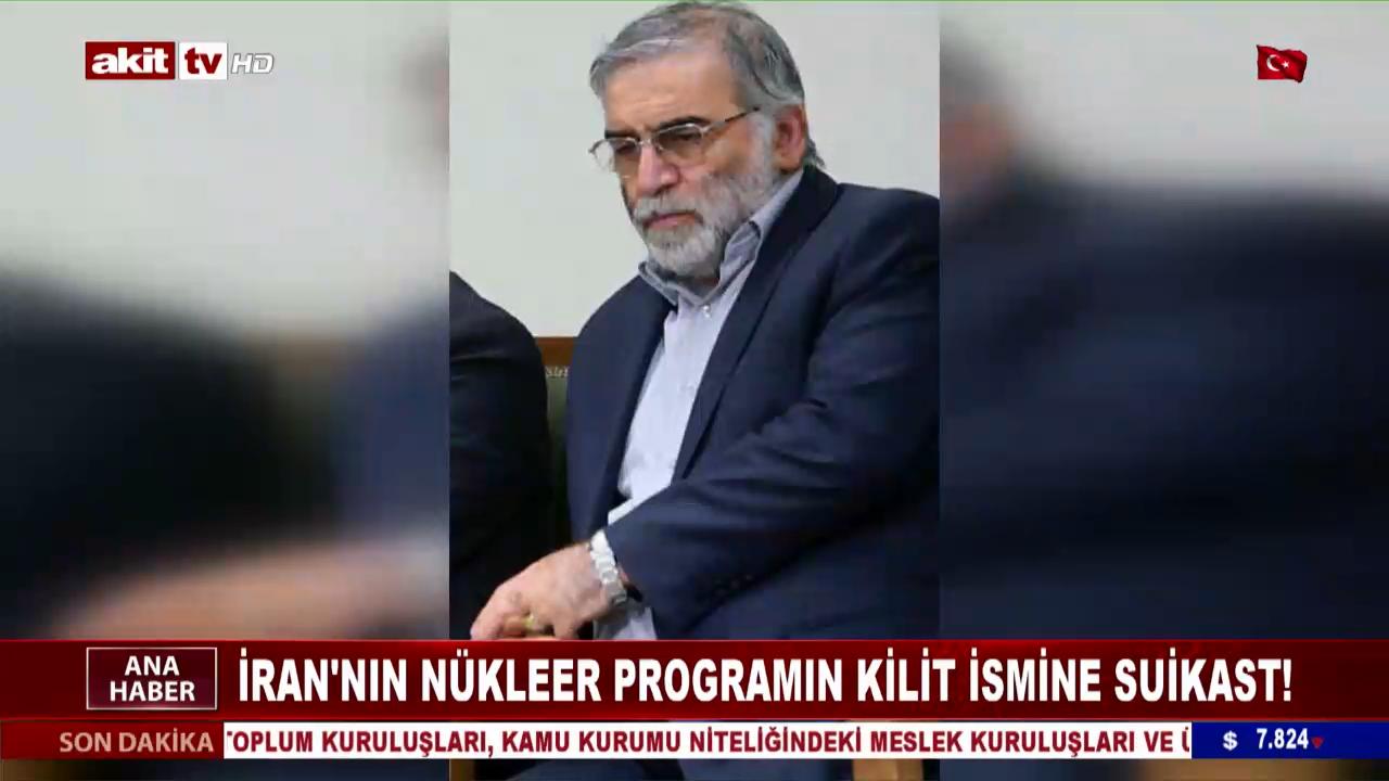 İran'ın nükleer programının kilit ismine suikast !