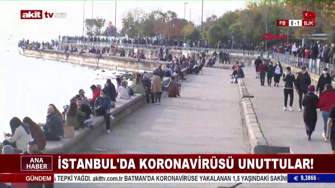 İstanbullu koronadan korkmuyor