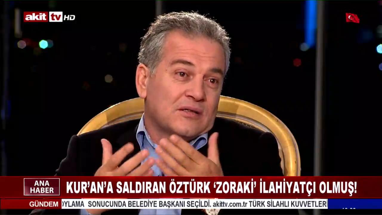Kur'an'a dil uzatan Mustafa Öztürk istifa etti