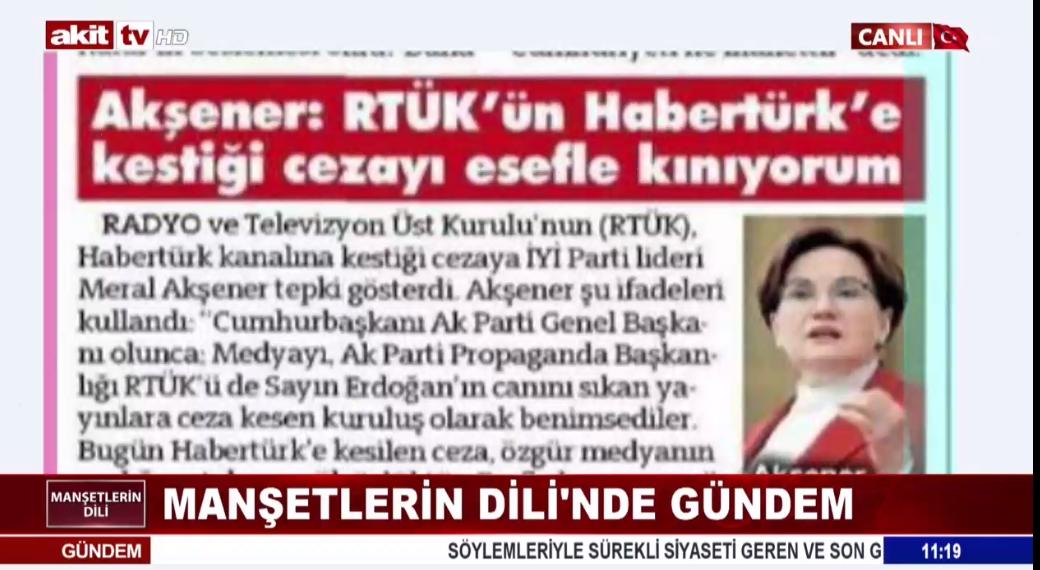 TSK'ya hakareti Akşener'de savundu !