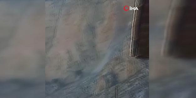 Facianın eşiğinden dönüldü! Akdeniz'deki deprem Karaman'da kayaları yerinden oynattı