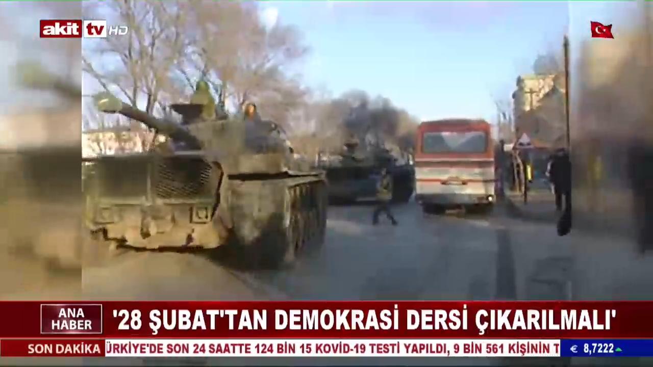 """""""28 Şubat'tan Demokrasi Dersi Çıkarılmalı"""""""