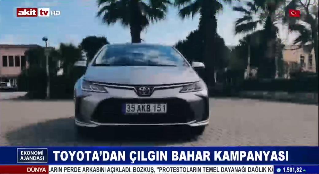 Toyota'dan çılgın bahar kampanyası
