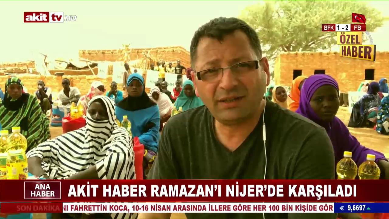 Akit Haber Ramazan'ı Nijer'de Karşıladı