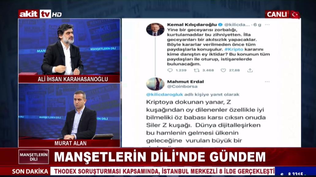 Kılıçdaroğlu Kripto tosuncuğu ile istişarede bulundu mu ?
