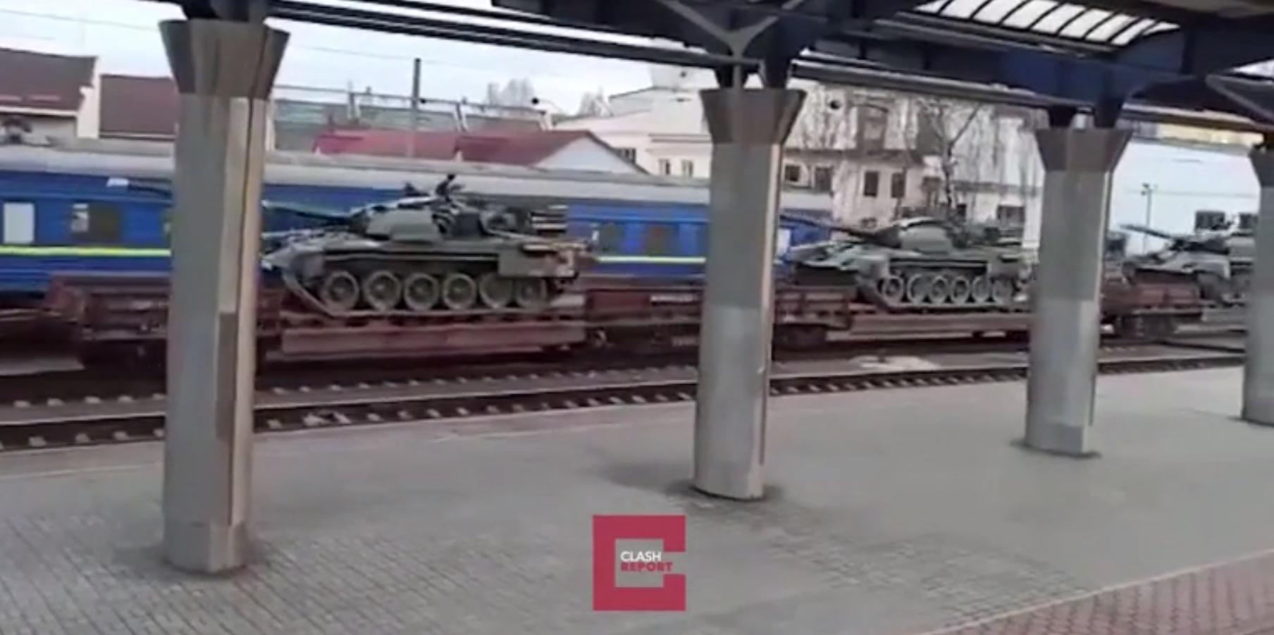 Rusya'dan görülmemiş askeri sevkiyatla savaşa hazırlık! Vagonların ucu bucağı görünmüyor
