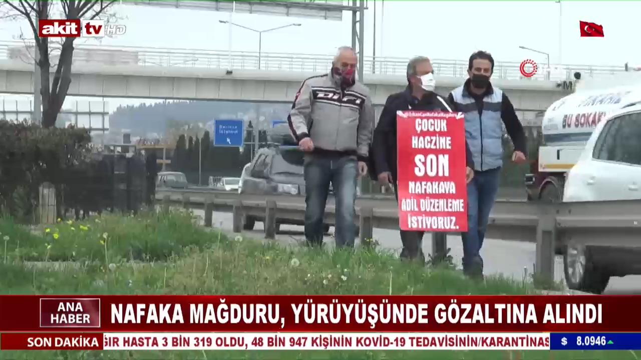 Sesini Duyurmak İçin İstanbul'dan Ankara'ya Yürüyor